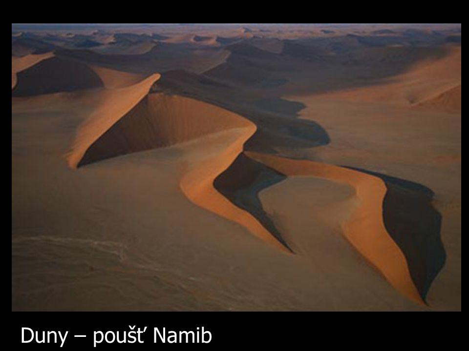 Duny – poušť Namib