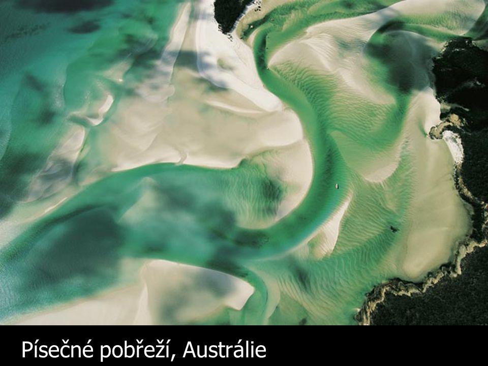Písečné pobřeží, Austrálie