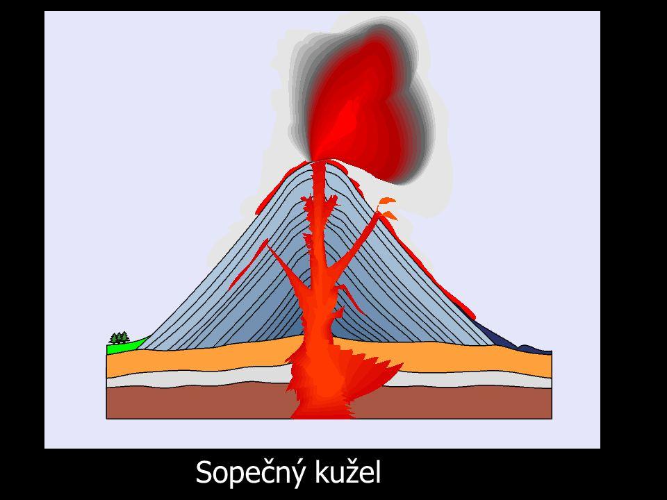 Hrad Trosky založený na vypreparovaném sopouchu (Východní Čechy)