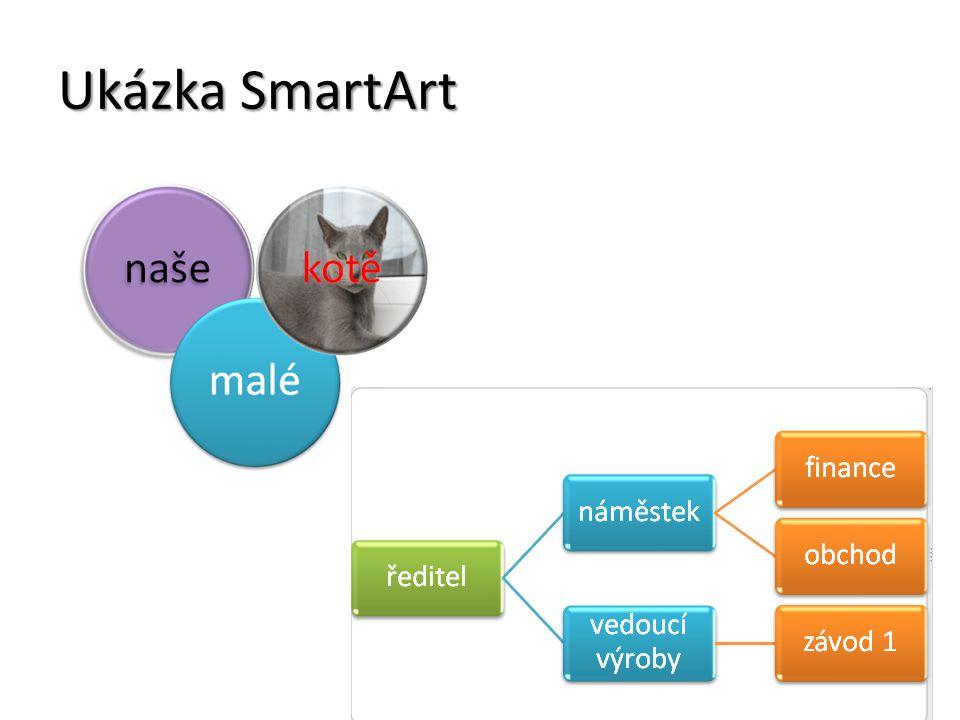 Ukázka SmartArt