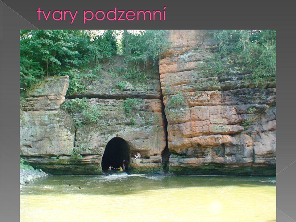  štoly, šachty, tunely