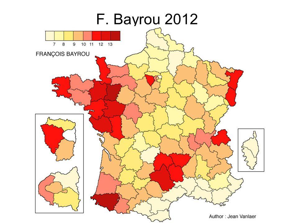 F. Bayrou 2012