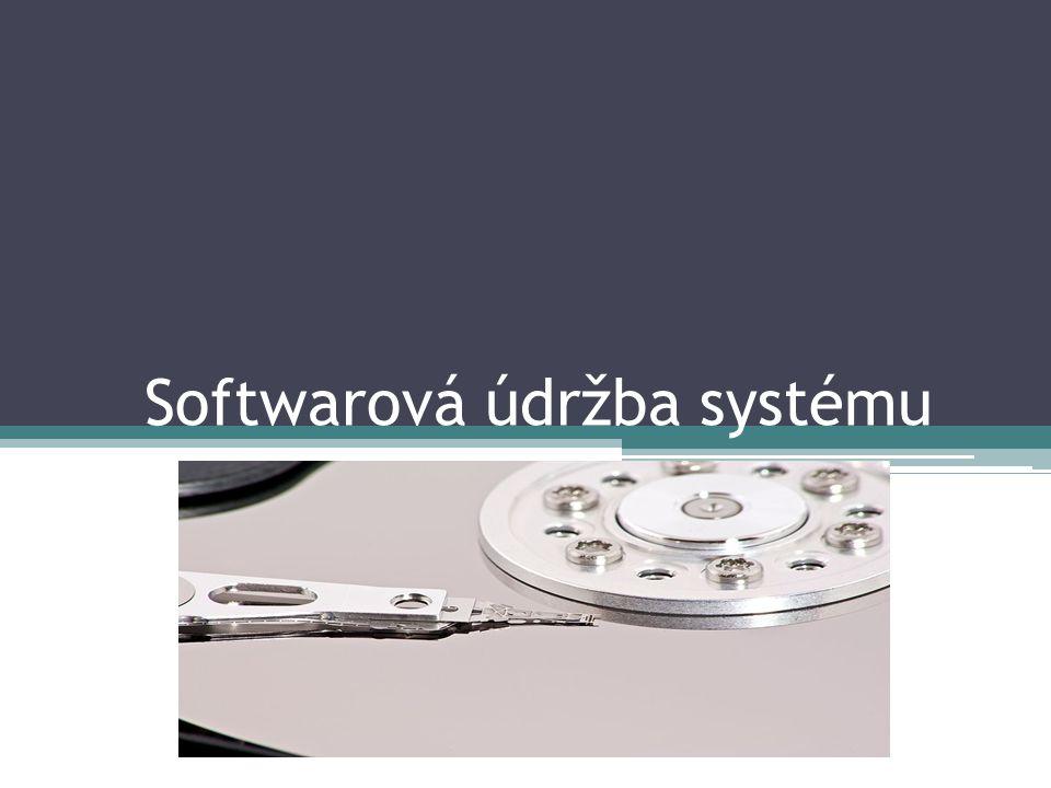 Během práce na počítači se disk obsazuje nejrůznějšími nepotřebnými soubory, které zcela zbytečně zabírají prostor na pevném disku.
