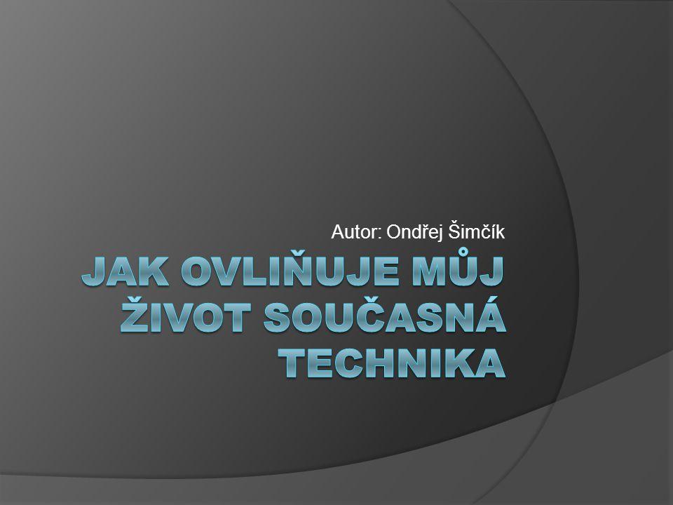 Autor: Ondřej Šimčík