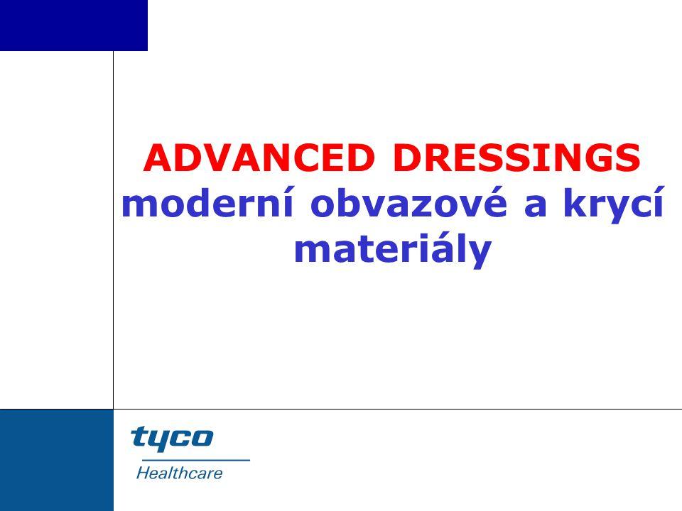 ADVANCED DRESSINGS moderní obvazové a krycí materiály