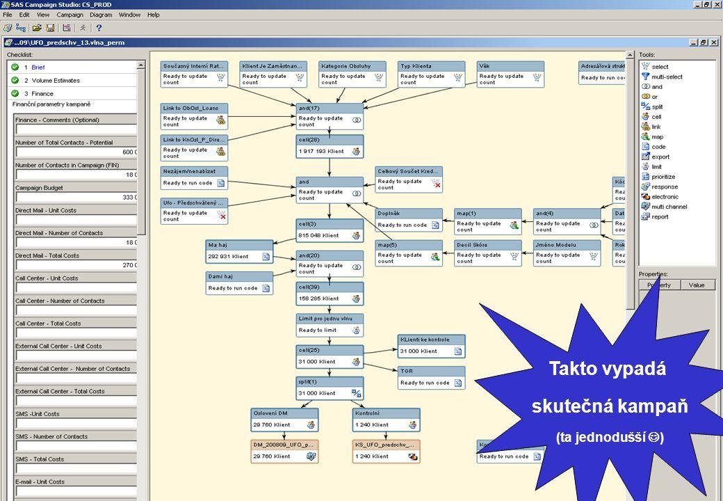 Marketin Automation Tool: Takto vypadá skutečná kampaň (ta jednodušší )