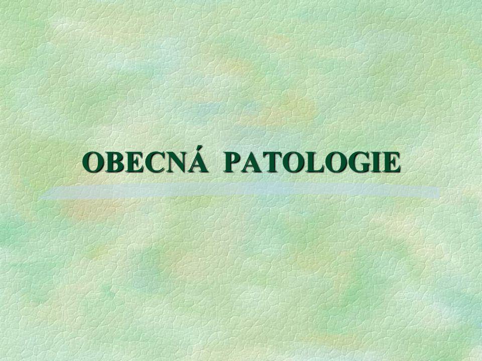 OBECNÁ PATOLOGIE