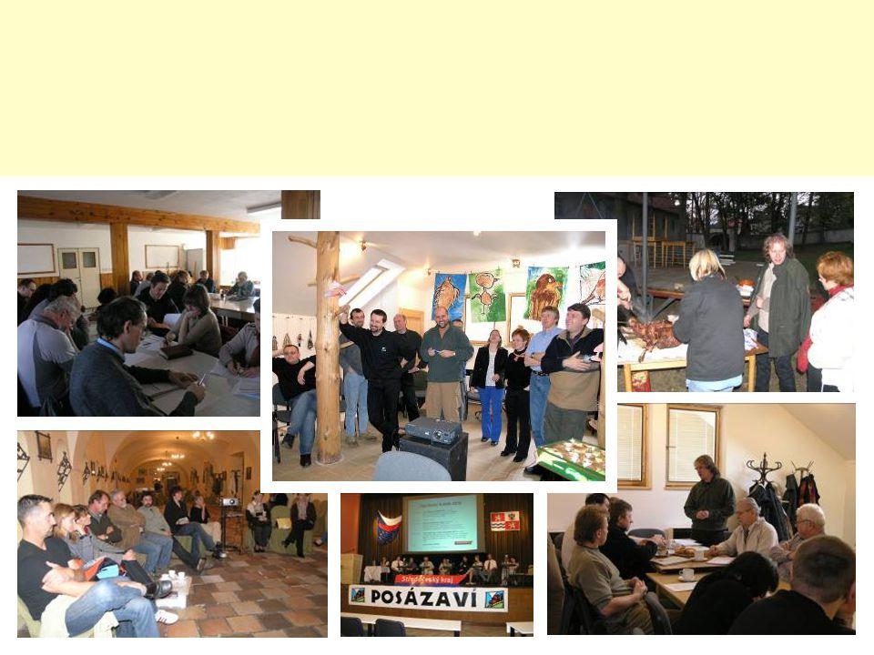 Naše strategie I: Our strategy: zachování a obnova typické české krajiny, zachování a zhodnocení přírodního a architektonického dědictví regionu obnova venkovského vzhledu obcí, průchodnost krajiny - všeobecné posílení atraktivity venkova jako místa pro život a rekreaci