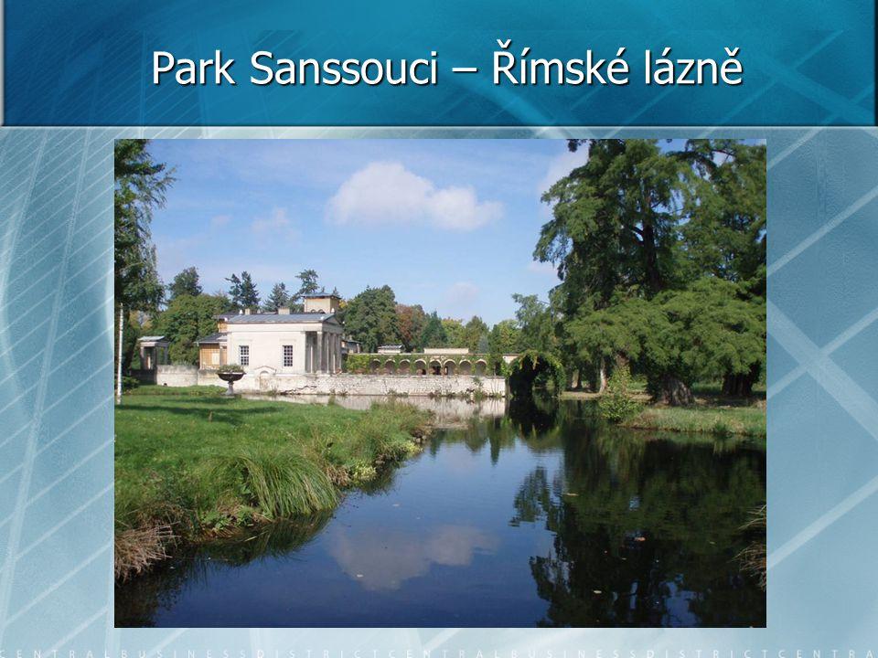 Park Sanssouci – Římské lázně