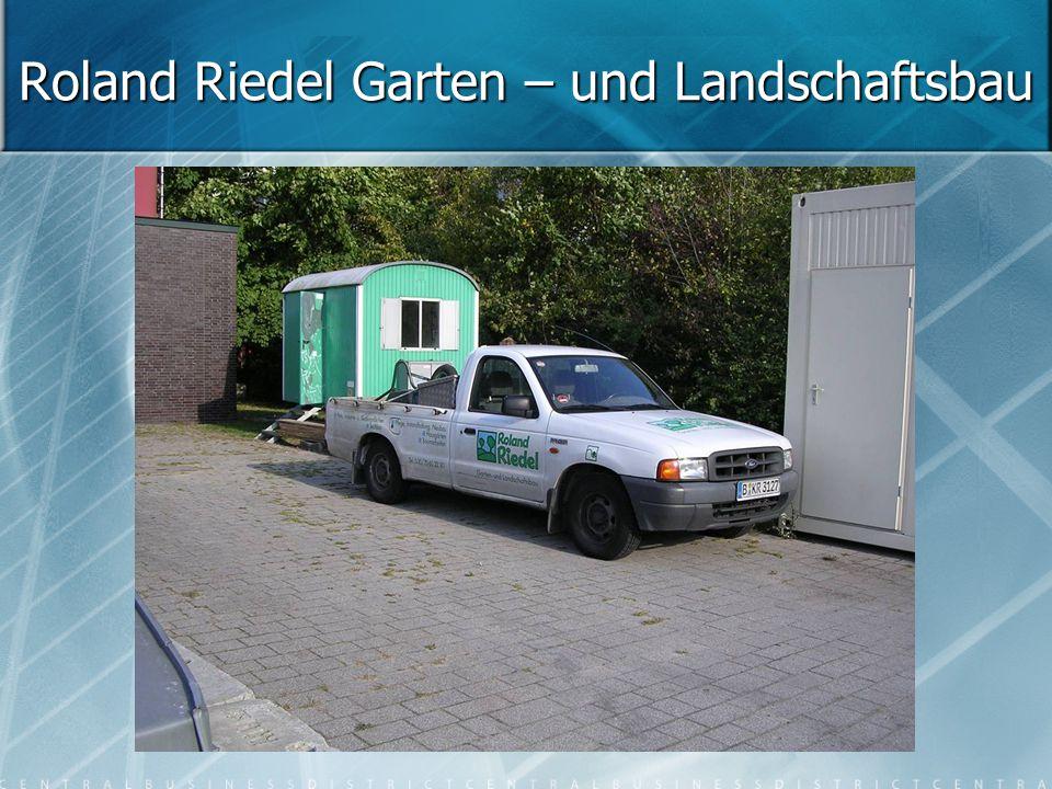 Roland Riedel Garten – und Landschaftsbau
