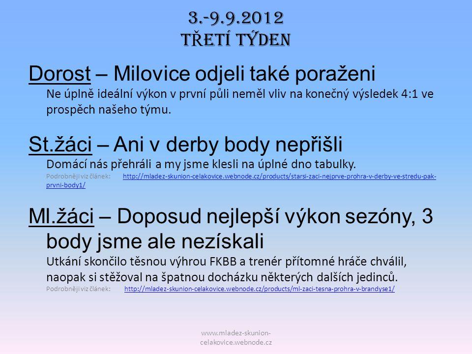 www.mladez-skunion- celakovice.webnode.cz STARŠÍ P Ř ÍPRAVKA 3.