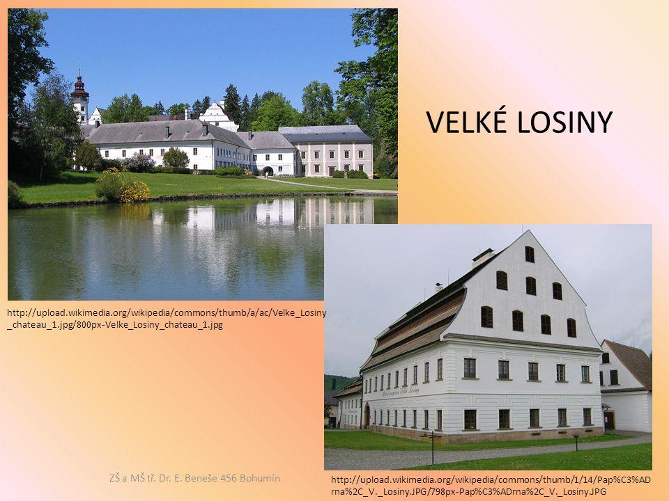 http://upload.wikimedia.org/wikipedia/commons/thumb/a/ac/Velke_Losiny _chateau_1.jpg/800px-Velke_Losiny_chateau_1.jpg http://upload.wikimedia.org/wiki