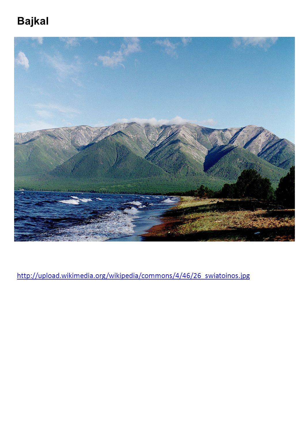 Bajkal http://upload.wikimedia.org/wikipedia/commons/4/46/26_swiatoinos.jpg