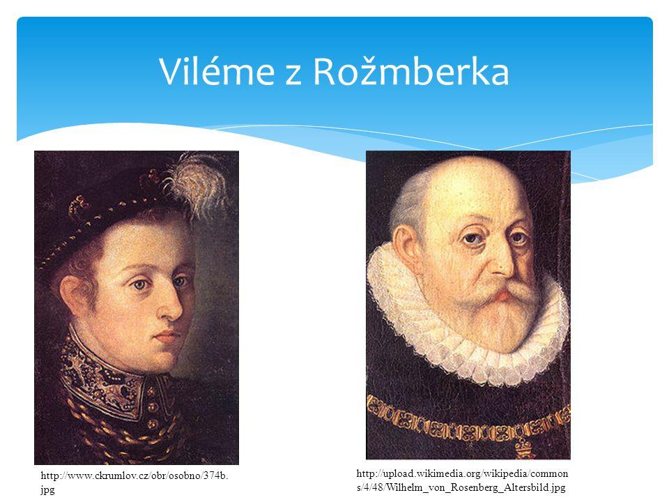 Viléme z Rožmberka  Vilém za mlada http://www.ckrumlov.cz/obr/osobno/374b.
