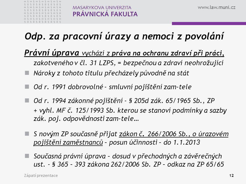 www.law.muni.cz Odp.