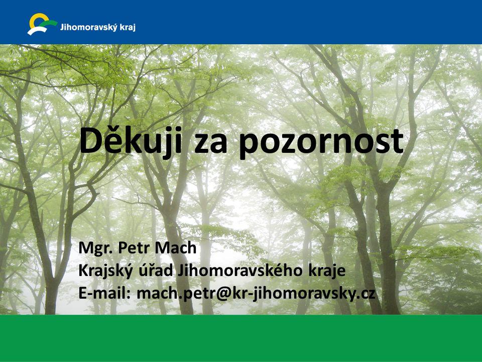 Systémová podjatost v judikatuře NSS Děkuji za pozornost Mgr. Petr Mach Krajský úřad Jihomoravského kraje E-mail: mach.petr@kr-jihomoravsky.cz