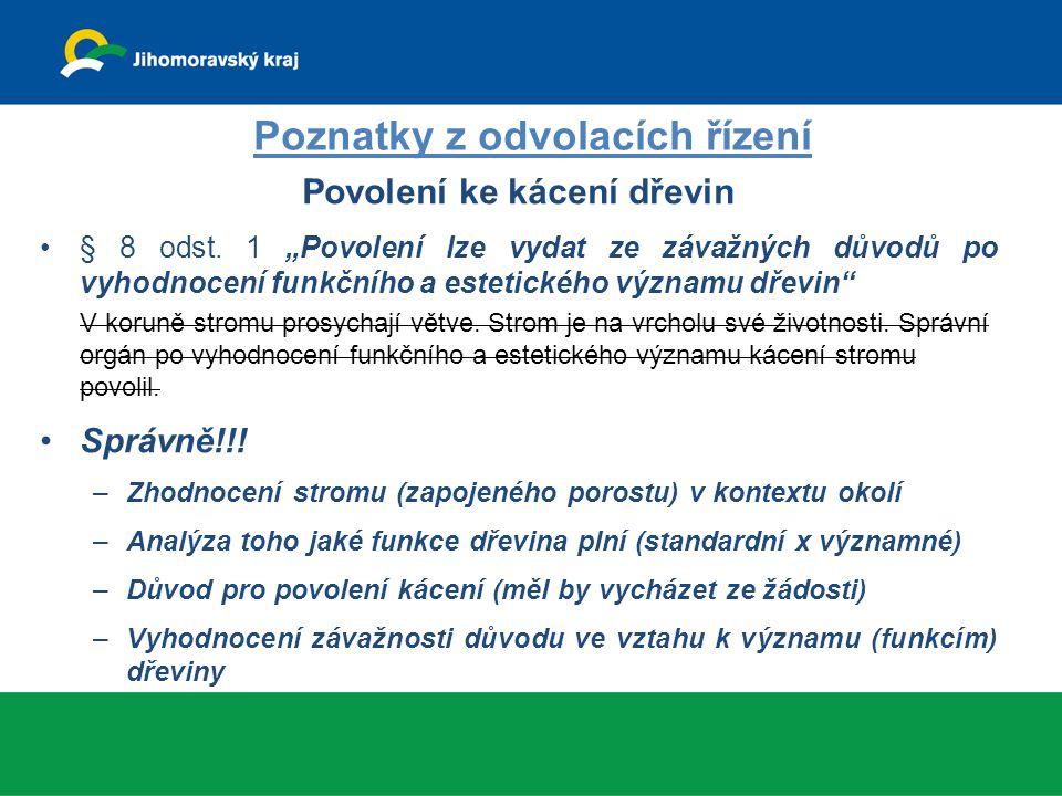 Povolení kácení na PUPFL – nicotné rozhodnutí Z.č.