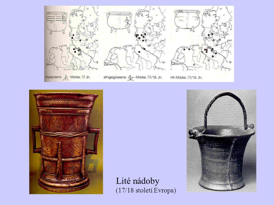 Lité nádoby (17/18 století Evropa)