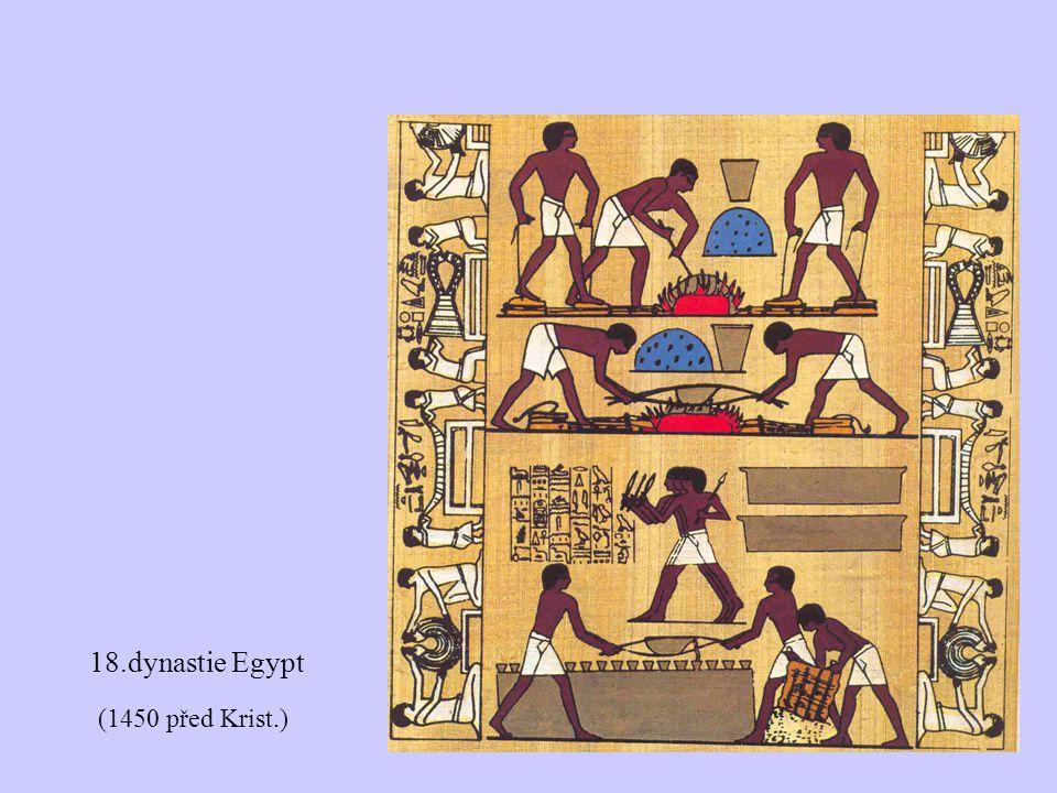 (1450 před Krist.) 18.dynastie Egypt