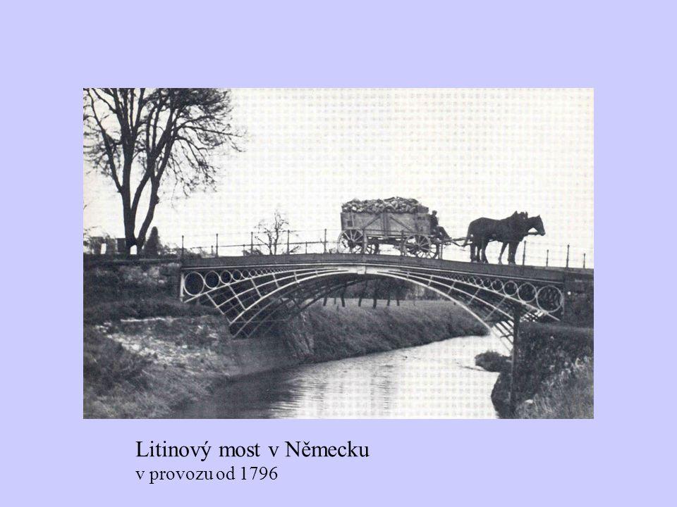 Litinový most v Německu v provozu od 1796