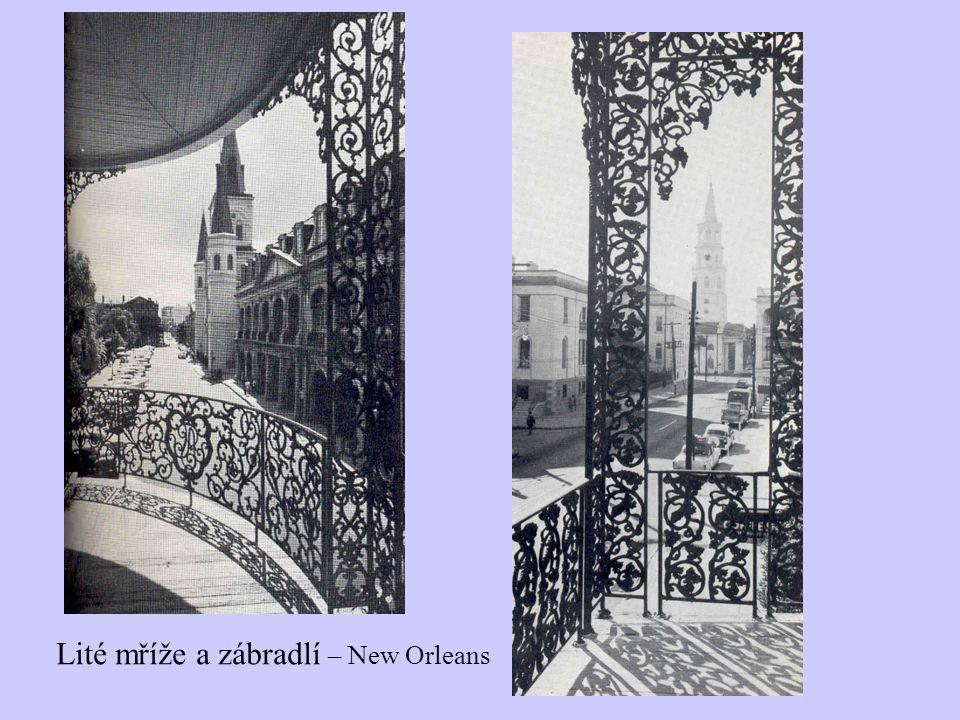 Lité mříže a zábradlí – New Orleans