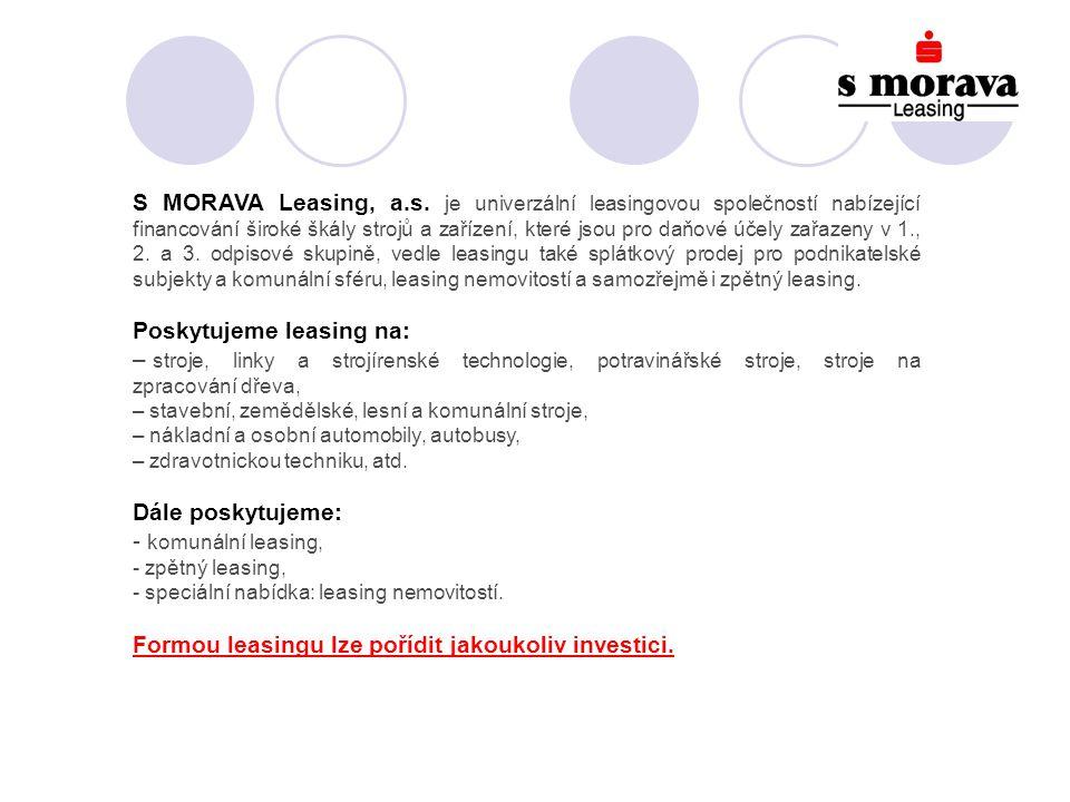 S MORAVA Leasing, a.s.