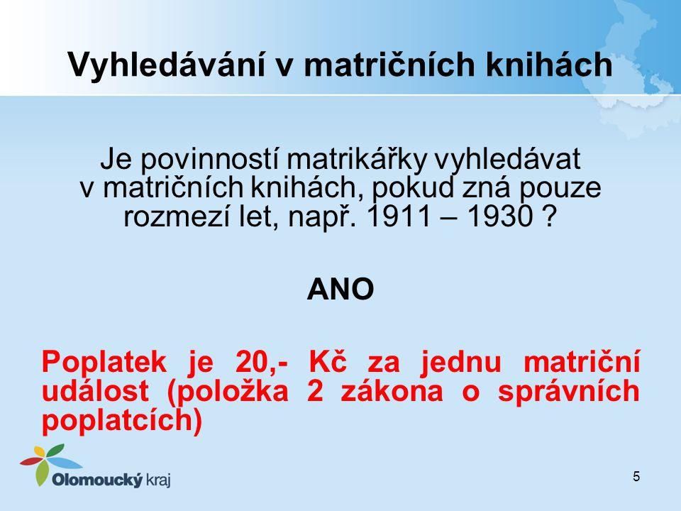 Dohoda manželů o příjmení Oddací list: muž Novák žena Novák Jahodová děti Novák – Nováková zápis v knize manželství 16