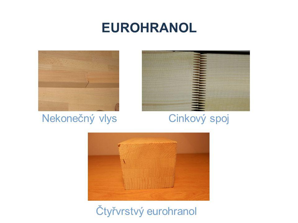 EUROHRANOL Nekonečný vlys Cinkový spoj Čtyřvrstvý eurohranol