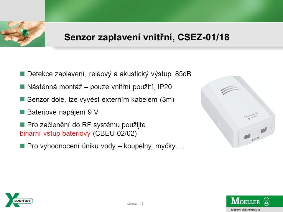 strana - 17 Venkovní senzor vlhkosti a teploty 0-10V, CSEZ-01/16