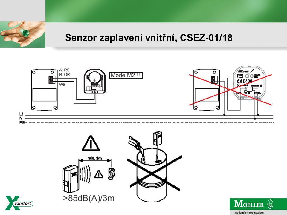 strana - 20 Senzor zaplavení vnitřní, CSEZ-01/18