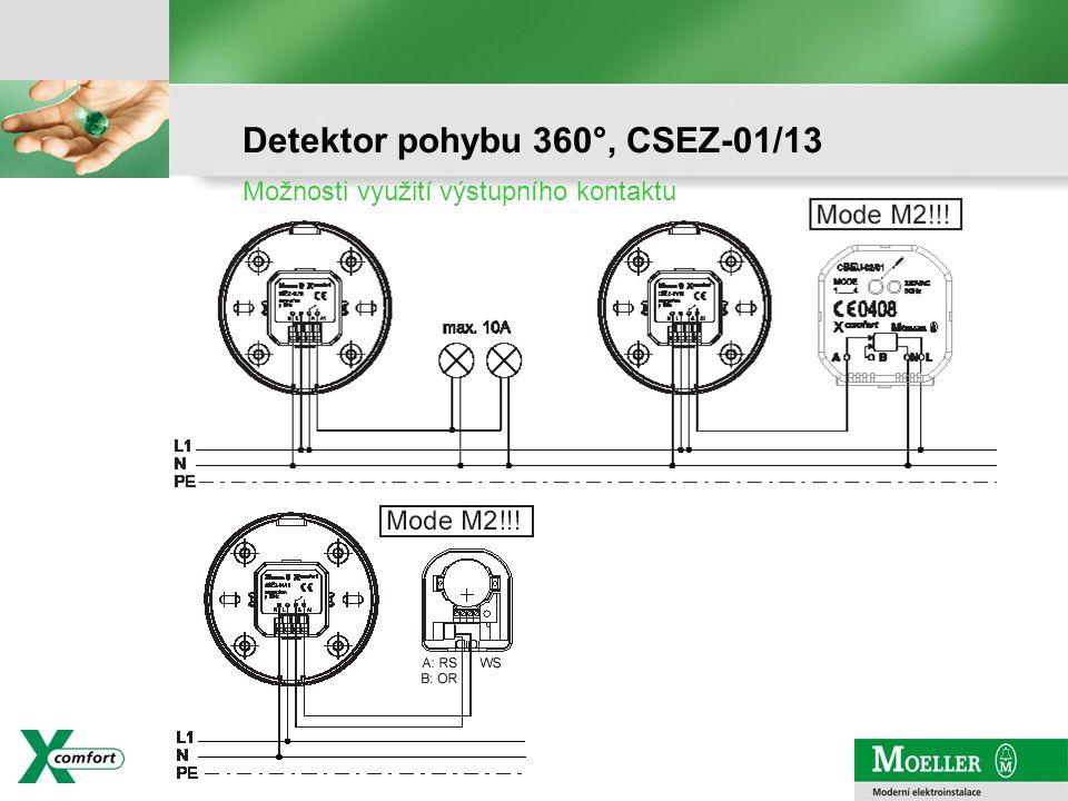 strana - 8 Detektor pohybu 360°, CSEZ-01/13