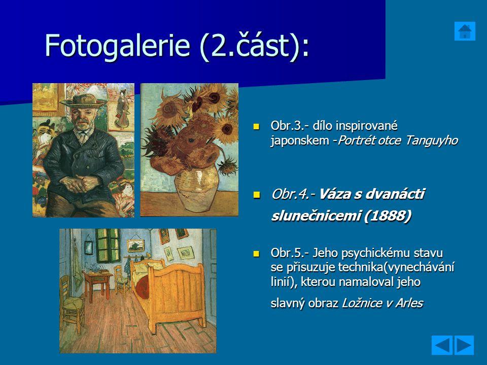 Fotogalerie (2.část): Obr.3.- dílo inspirované japonskem -Portrét otce Tanguyho Obr.3.- dílo inspirované japonskem -Portrét otce Tanguyho Obr.4.- Váza