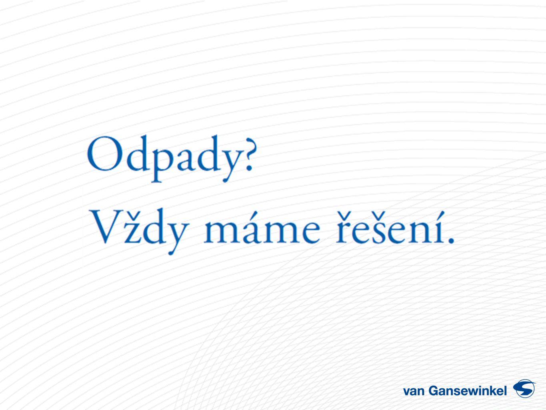 Pokud se chcete stát členem skupiny van Gansewinkel – pošlete nám svůj životopis na email : kariera@vangansewinkel.cz