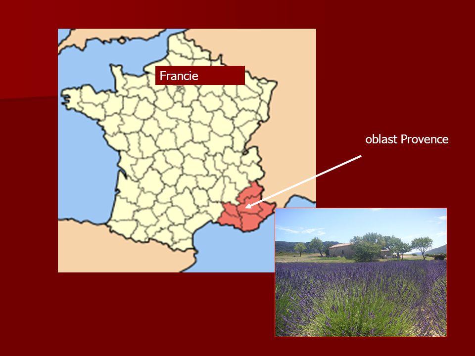 Francie oblast Provence