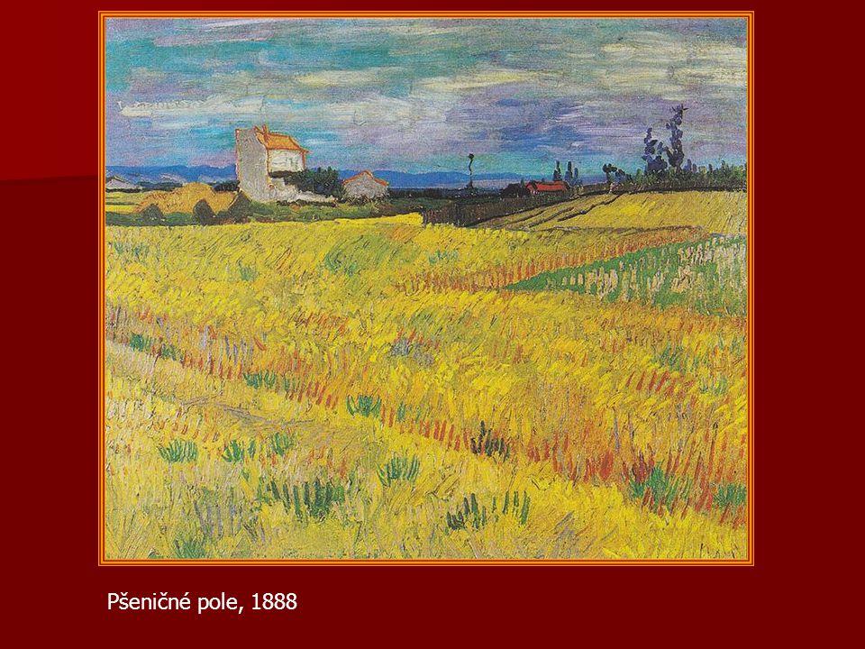 Pšeničné pole, 1888