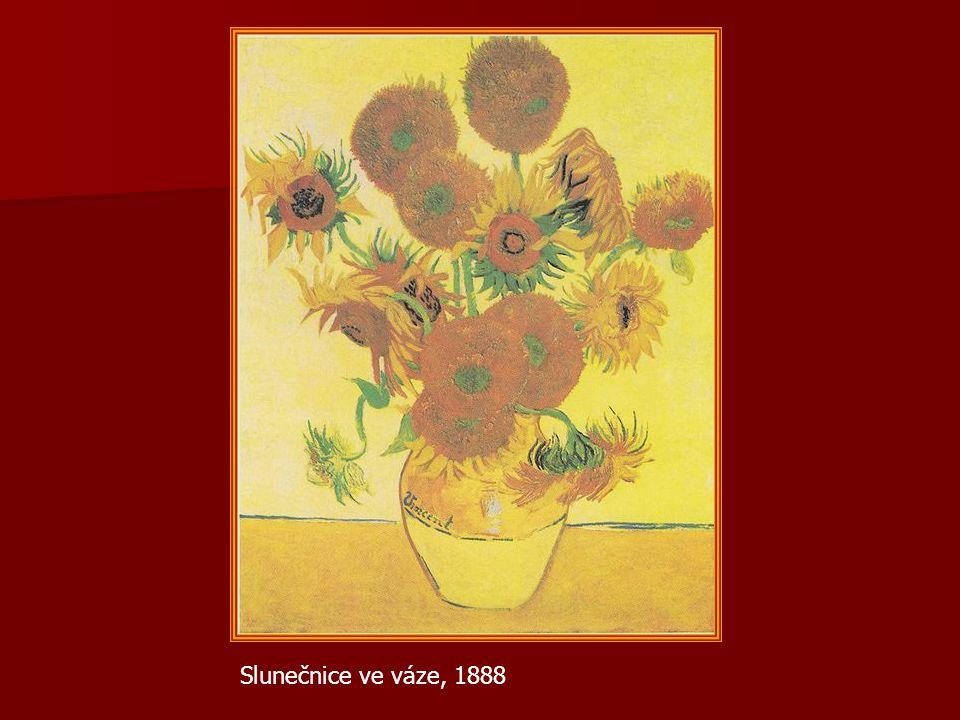 Slunečnice ve váze, 1888