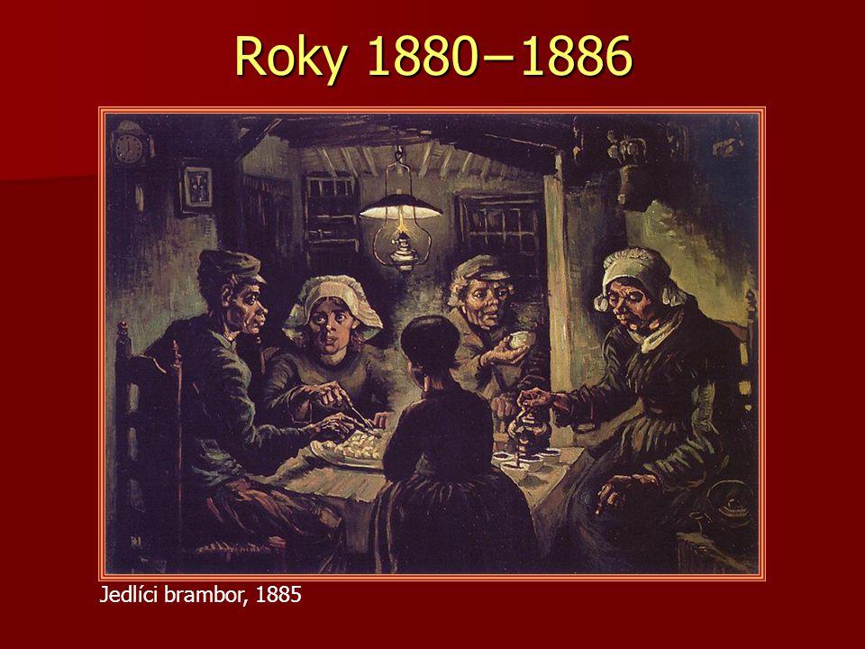 Jedlíci brambor, 1885 Roky 1880−1886