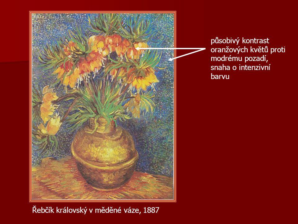 Co je typické pro van Goghovu malbu.