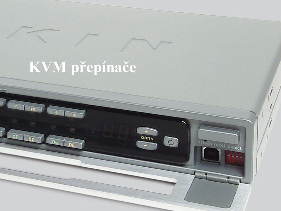 Slide Number 5 KVM KVM přepínače