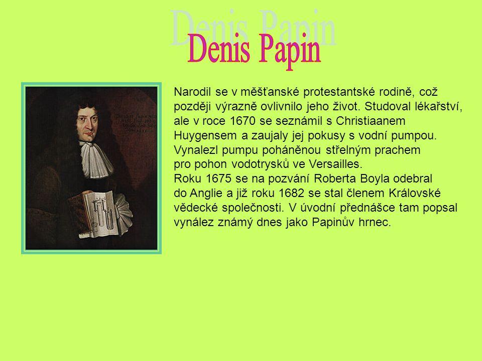 Narodil se v měšťanské protestantské rodině, což později výrazně ovlivnilo jeho život.