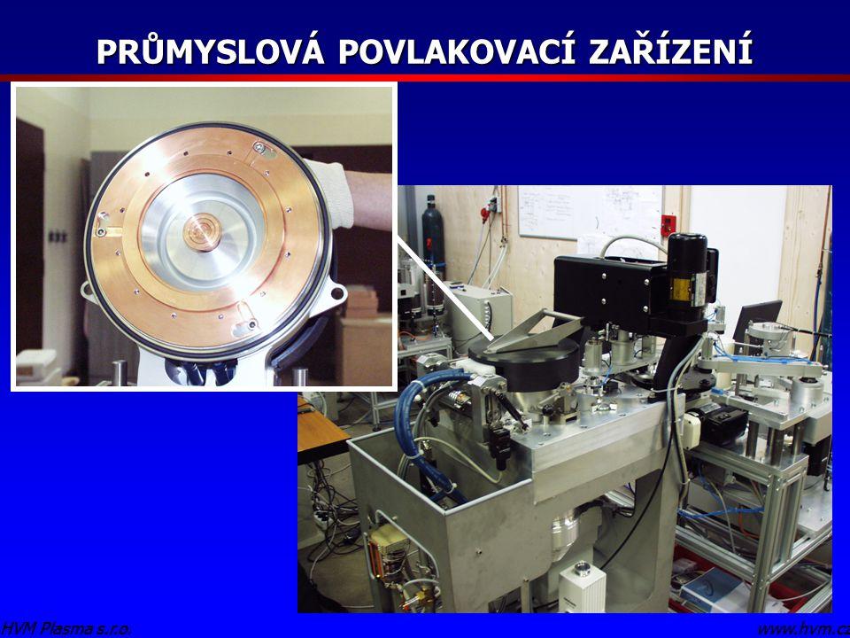 www.hvm.czHVM Plasma s.r.o. PRŮMYSLOVÁ POVLAKOVACÍ ZAŘÍZENÍ www.hvm.czHVM Plasma s.r.o.