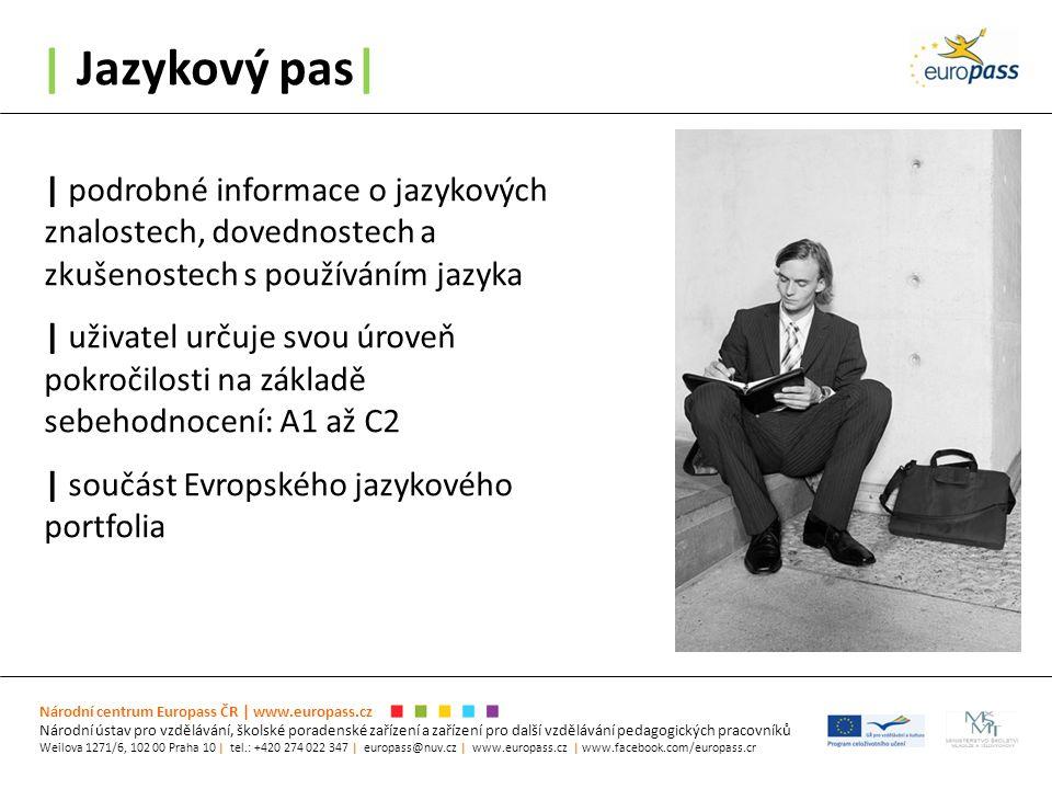 | Jazykový pas| Národní centrum Europass ČR | www.europass.cz Národní ústav pro vzdělávání, školské poradenské zařízení a zařízení pro další vzděláván