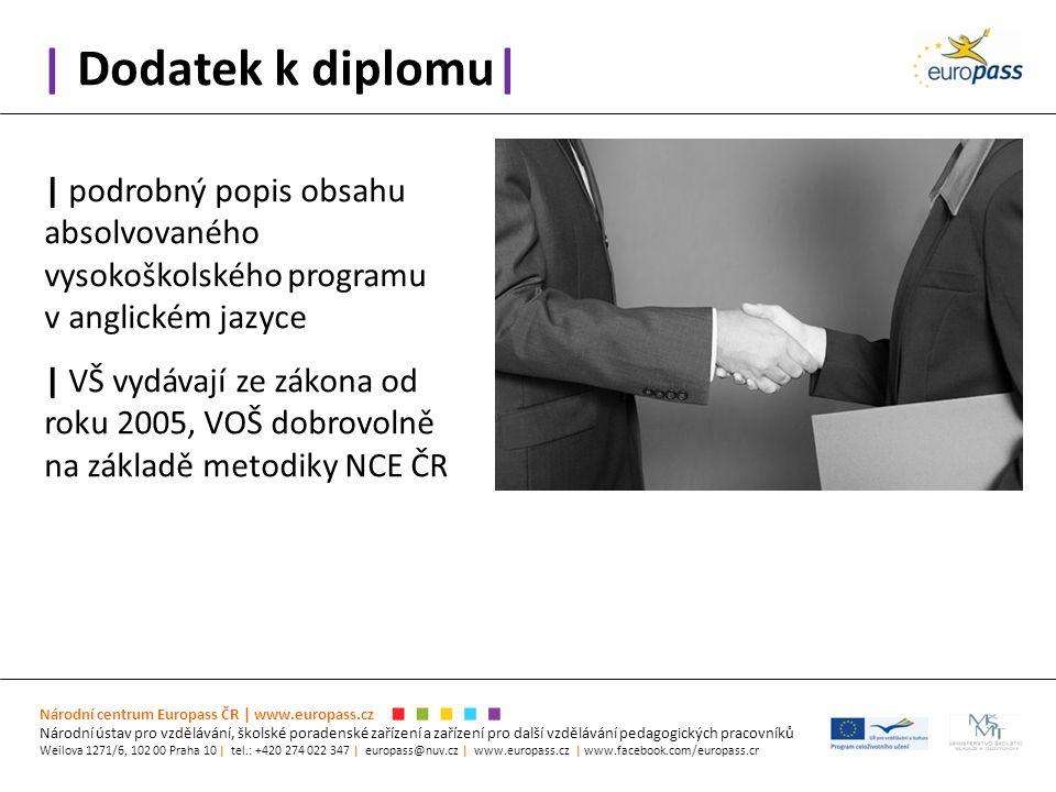 | Dodatek k diplomu| Národní centrum Europass ČR | www.europass.cz Národní ústav pro vzdělávání, školské poradenské zařízení a zařízení pro další vzdě