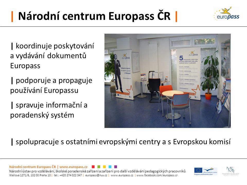 | Národní centrum Europass ČR | Národní centrum Europass ČR | www.europass.cz Národní ústav pro vzdělávání, školské poradenské zařízení a zařízení pro