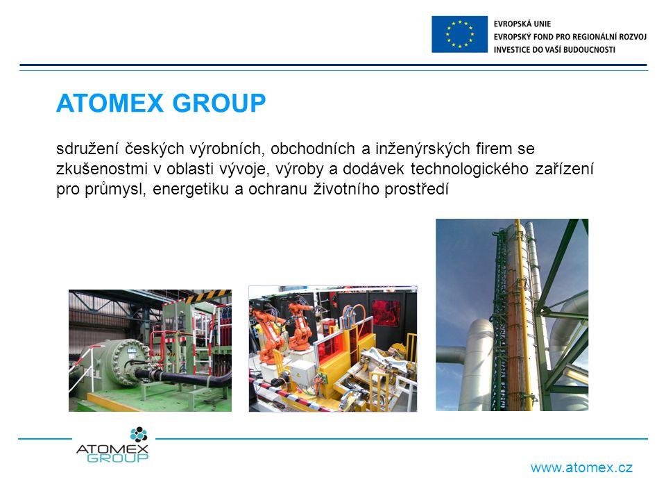 www.atomex.cz předseda Rady Sdružení: Ing.František Kulovaný místopředseda Rady SdruženíIng.