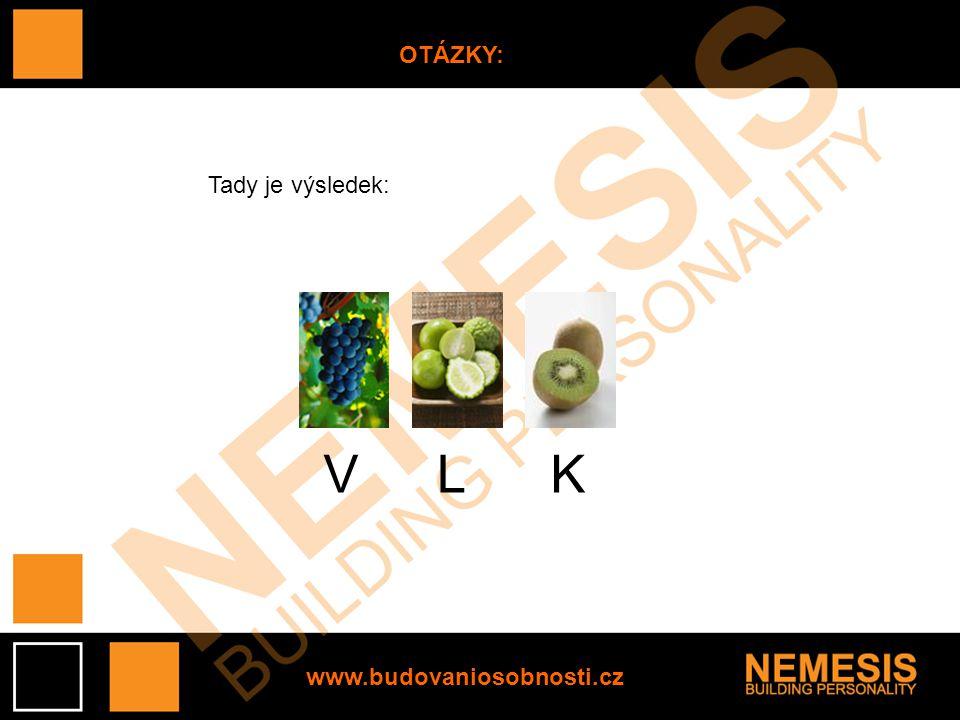 www.budovaniosobnosti.cz OTÁZKY: Tady je výsledek: VLK