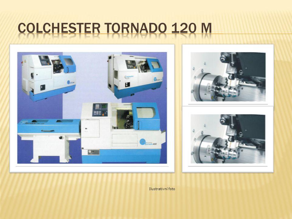  Průchod vřetene: 51 mm  Točný průměr: 400 mm (220 mm)  Točná délka: 500 mm  Otáčky vřetene: 4200 ot./min.  Výkon vřetene: 7,5/11 kW  Rychloposu
