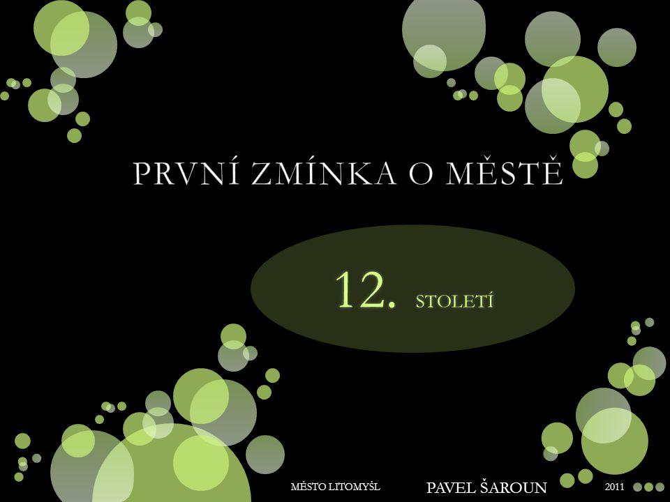 2011 MĚSTO LITOMYŠL