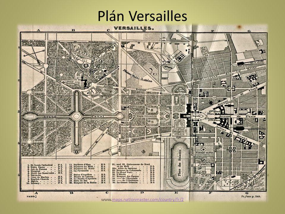 Plán Versailles www.maps.nationmaster.com/country/fr/2maps.nationmaster.com/country/fr/2