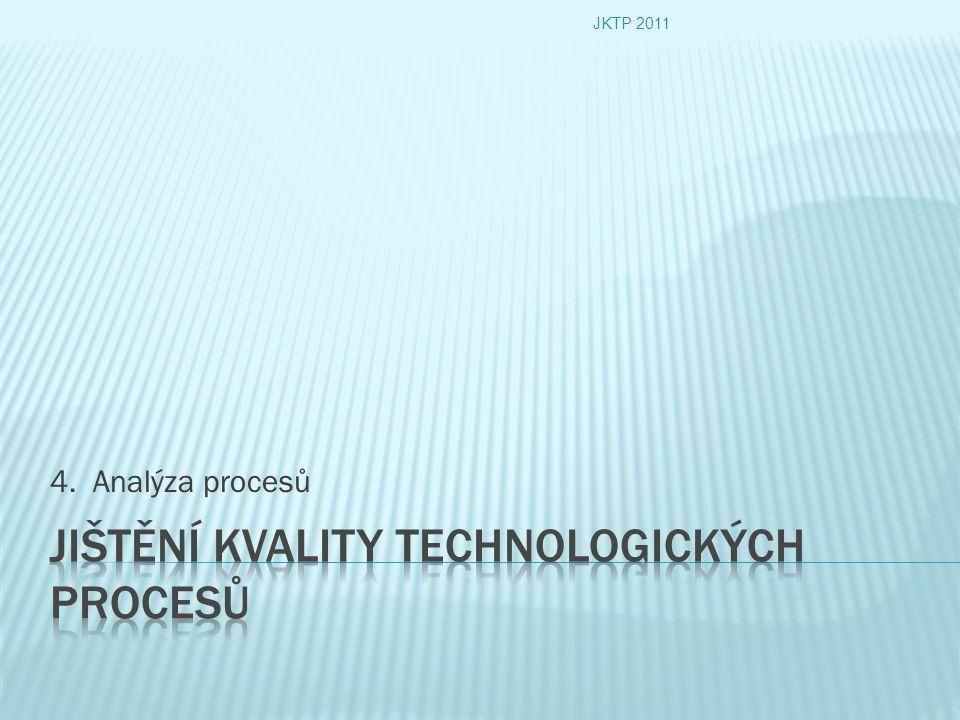 4. Analýza procesů JKTP 2011